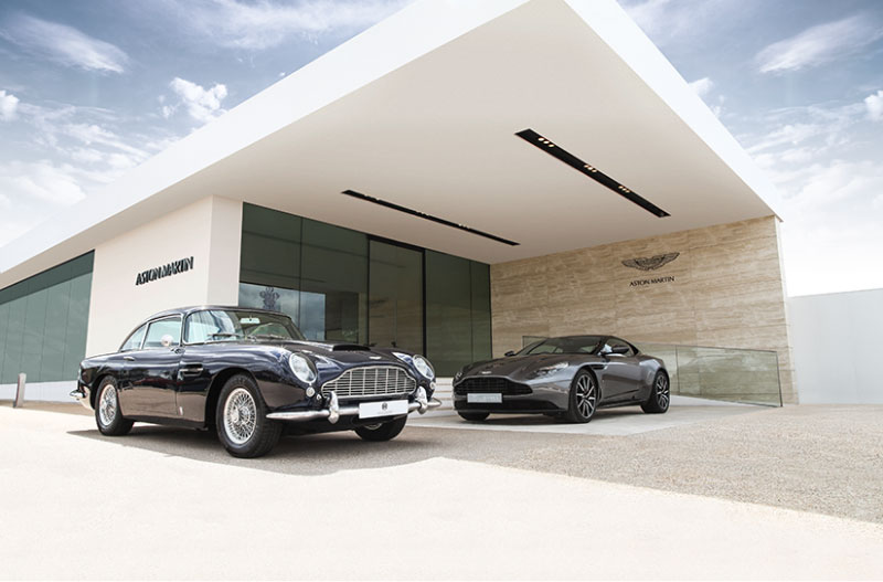 Contact Us Aston Martin Works