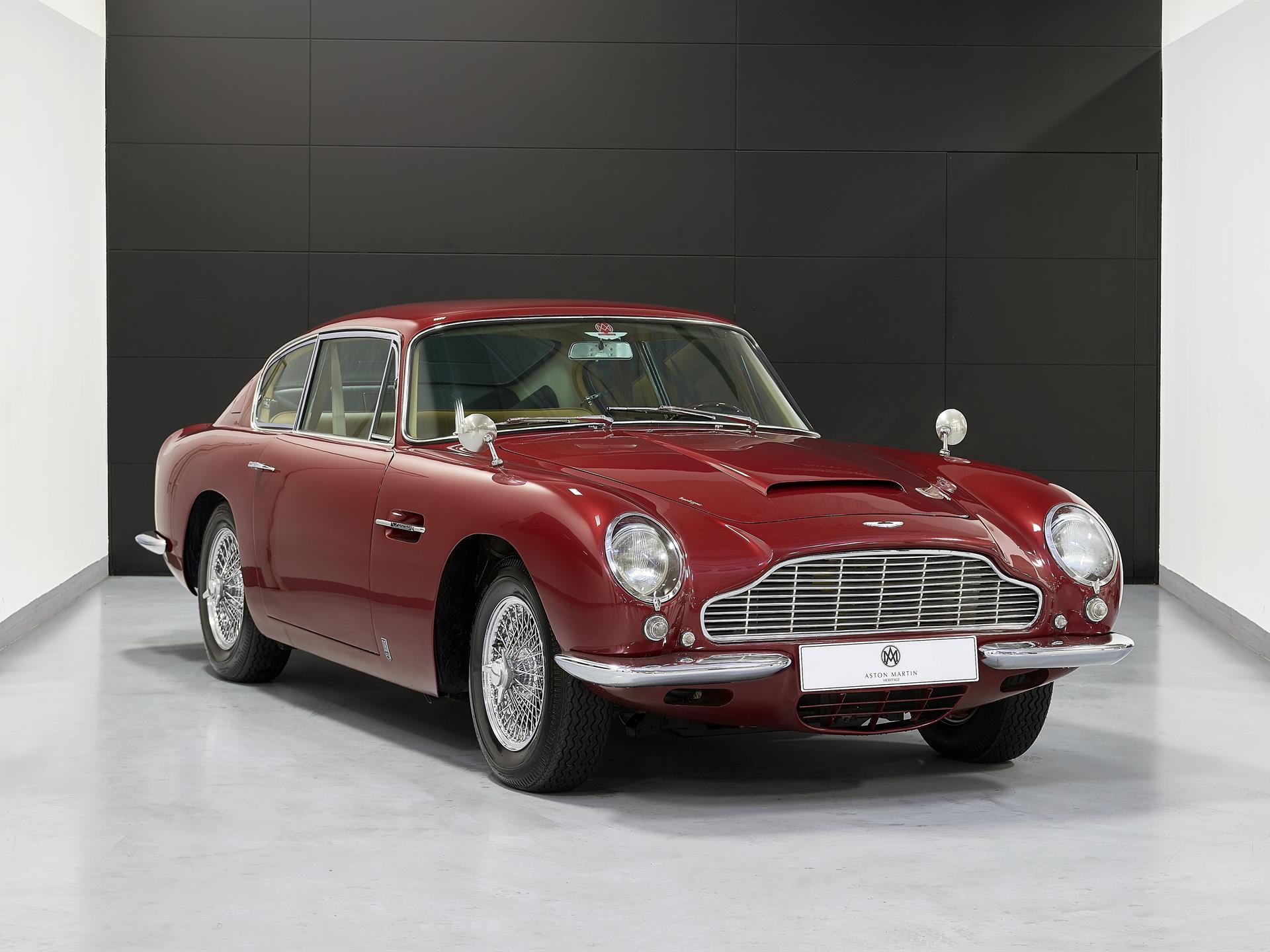 Aston Martin Db6 Saloon Deep Red Db63425l Aston Martin Works