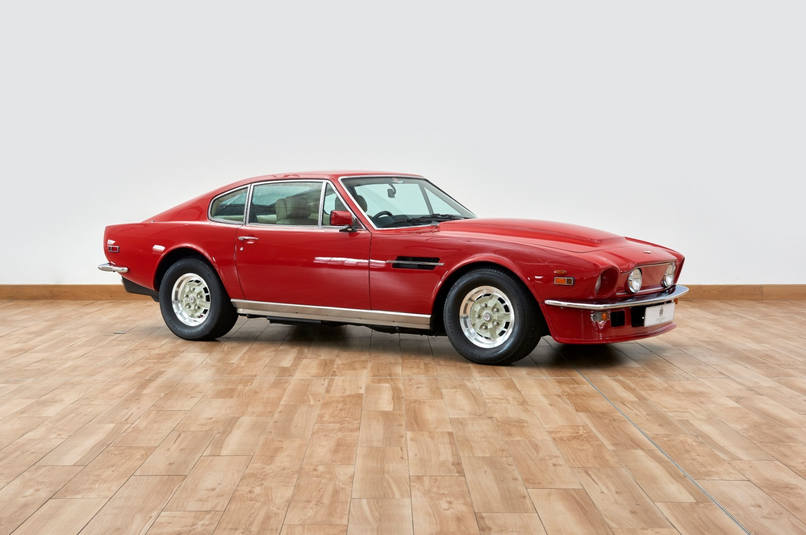 Aston Martin Amv8 Vantage Storm Red R12159 Used Cars For Sale Aston Martin Works