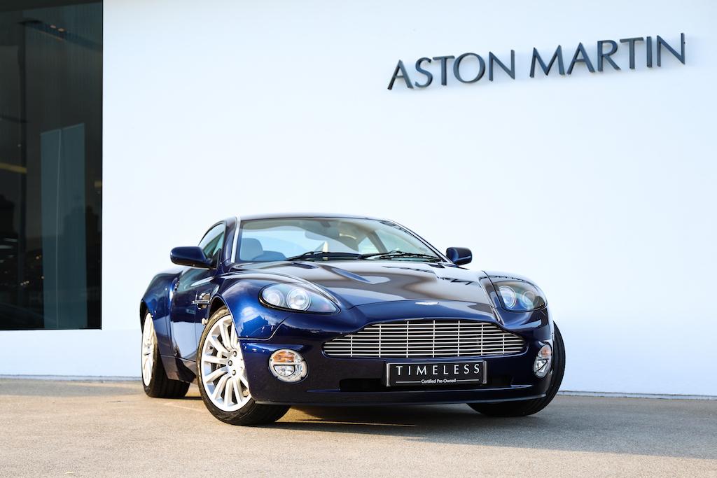 Aston Martin Vanquish Coupe Mendip Blue Scfac13383b500652 Used Cars For Sale Aston Martin Works