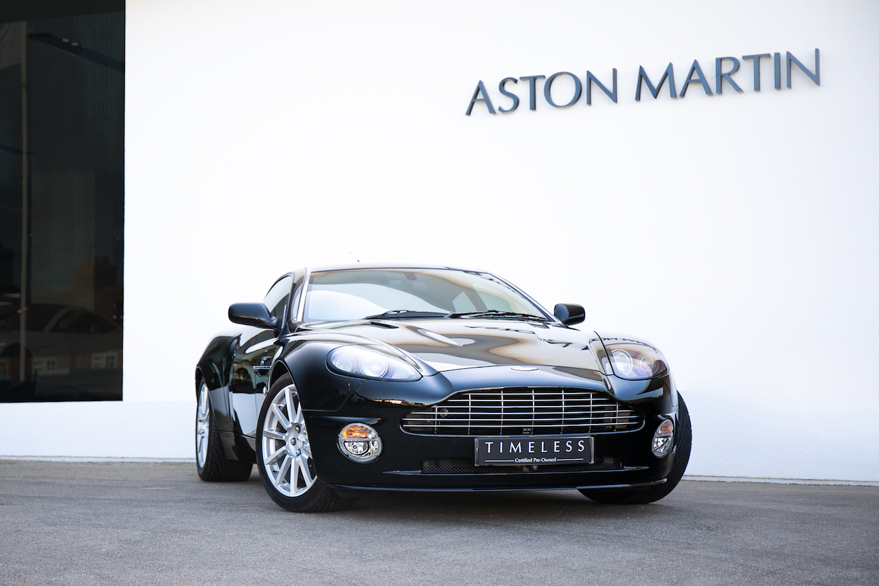 Aston Martin Vanquish S Coupe Ultimate Black Scfac14317b502571 Used Cars For Sale Aston Martin Works